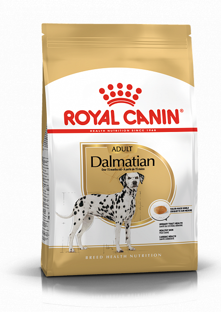 Сухой корм Royal Canin Dalmatian Adult для взрослых и стареющих собак породы Далматин